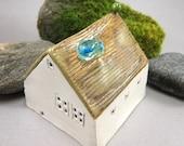 Remember Me... Miniature Porcelain House