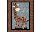George The Giraffe Applique Quilt- PDF Pattern by MadcreekDesigns