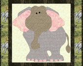 RumpleDump the Elephant Applique-PDF Patternby MadCreekDesigns