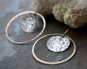 Industry Hoop Earrings