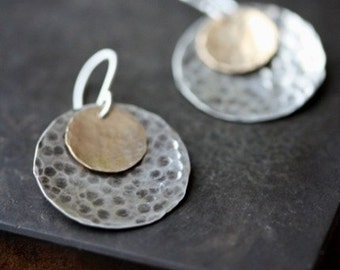 SALE- Little Disc Earrings