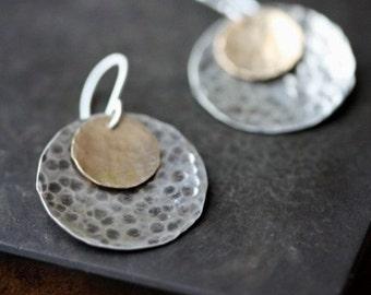 SALE- Little Disc Earrings