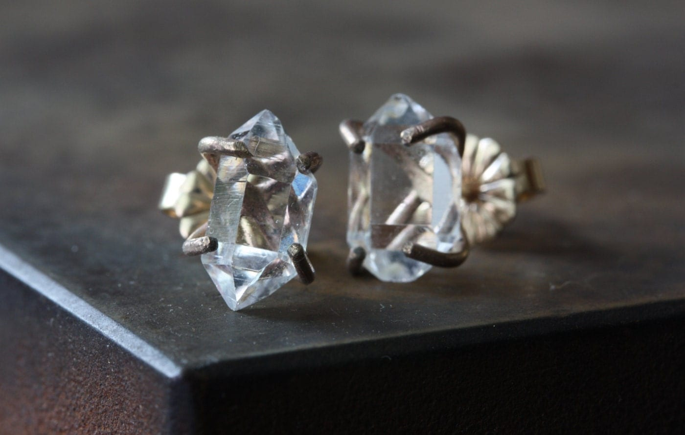 Herkimer Diamond Earrings 14kt Gold As Seen In Bust. Emerald Bracelet. Where To Buy Anklets. Jazz Bands. Fox Pendant. Black Pearl Wedding Rings. Imperfect Diamond. Contemporary Jewellery. Bangles Diamond