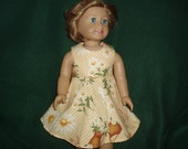 Clothes for American Girl Doll -- Pretty Spring Floral Dress