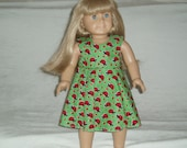 American Girl Doll Clothes -- Happy Ladybugs Spring or Summer Dress