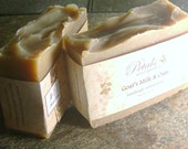 Goat's Milk and Oats Handmade Cold Process Soap enriched with Lanolin