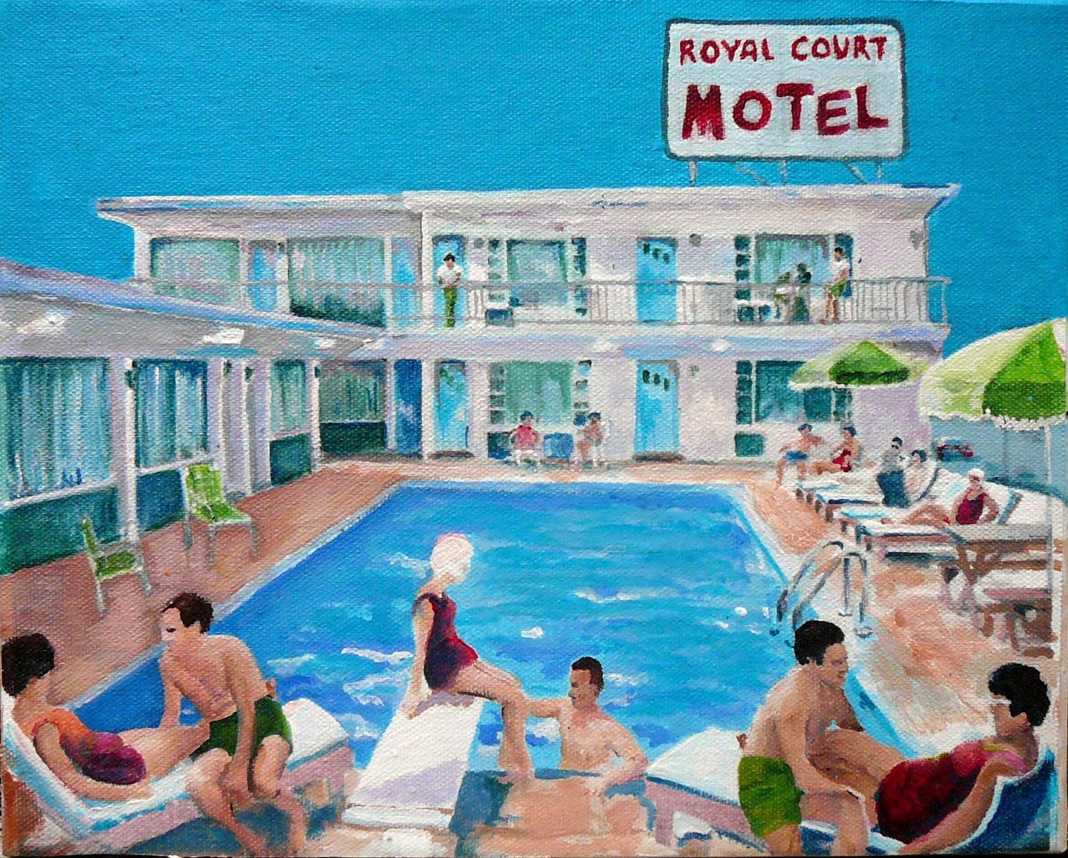motel pool Motel pools los angeles, california grit and grime -spin a particularly  delectable style of fashionable destitution -impose a sort-of fuck you towards all .