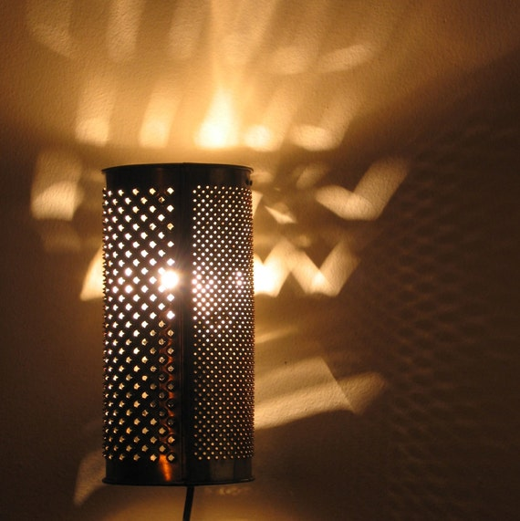 Ambi the Hedgehog plug in sconce or table lamp