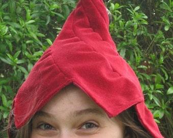 Flower Tendril Hat Peeping Pixie
