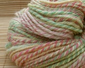 Wool Hand Spun Yarn Sorbet 120 yards\/ 110 meters