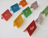 Little Terrier - Mini Cards Set of 9 - Rainbow Collection