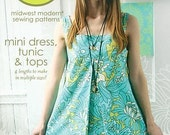 Amy Butler Sewing Pattern Mini Dress, Tunic, and Tops
