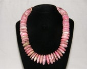 County Pink Turquoise Necklace