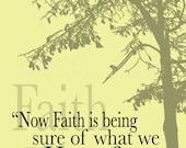 Faith and Hope. 8x12 Fine Art Print
