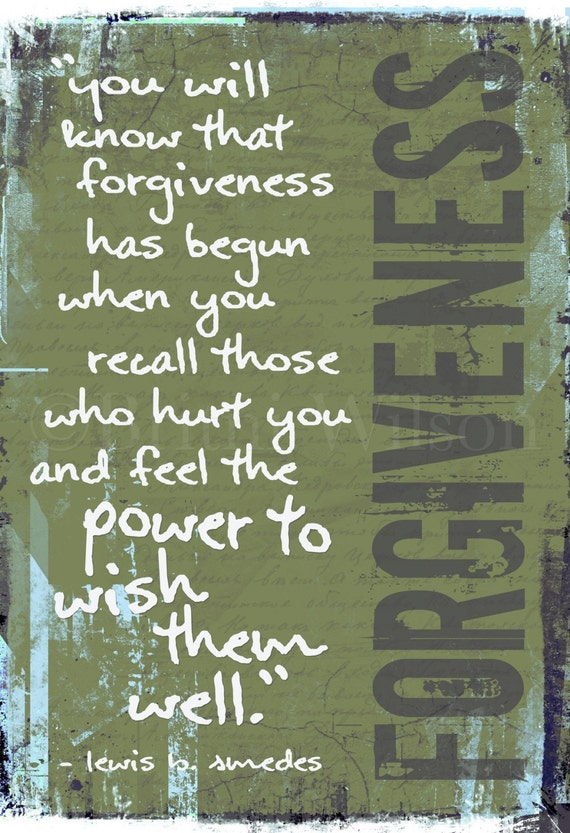 TRUE FORGIVENESS. 10x15 Fine Art Print