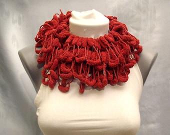 Super soft pompom scarf