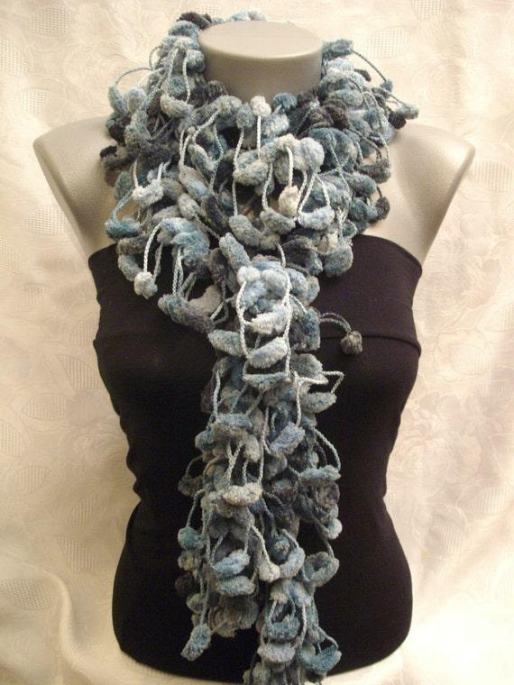 SALE CHRISTMAS GIFT Super soft pompom scarf