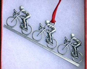 Bicycle Ornament - Paceline