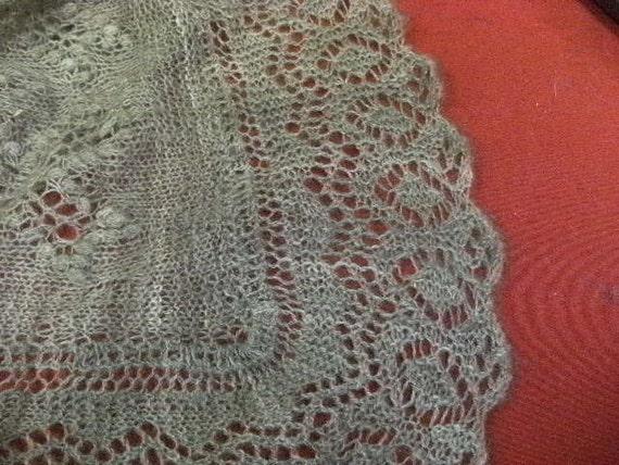 Qiviut Handspun Estonian Lace Shawl by Alice Scherp