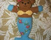 MerBear (mermaid teddy bear ) Pattern