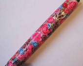 NEW polymer clay handmade Mezuzah case Judaica by myfiori