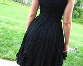 ON HOLD FOR LISA -- Little Black Moth Victorian Noir Dress
