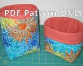 Mini knick-knack bag -- PDF pattern