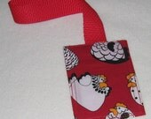 Chicky Babes luggage tag