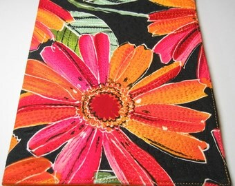 Large floral journal cover