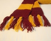 Harry Potter House Scarf - Gryffindor - MADE TO ORDER