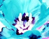 A6 Postcard size limited edition photograph of Blue Tulip (UK598/22p - 1/1)