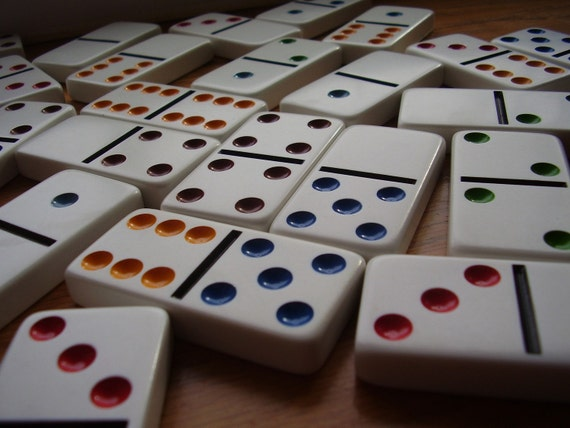 Large White Dominoes