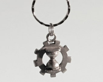 Time Travel Aid SteamPunk key chain