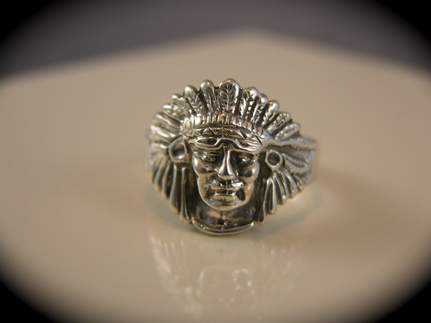 sterling silver indian ring