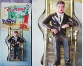 1962 JFK JOHN KENNEDY Rocking Chair Figurine Toy in Orig. Package