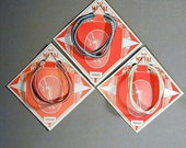 Lot of 1930s Art Deco Elastic GARTERS Blousers on Orig. Cards