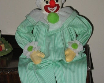 Vintage Clown Shelf Sitter