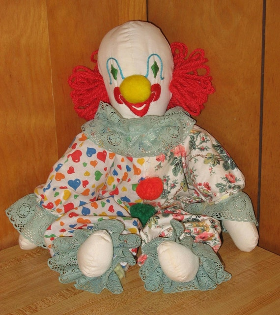 Vintage Home-made Clown