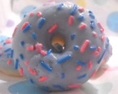 4 Donut Candle Tart Melts Wickless Candles Blueberry Cheesecake Scented Soy Wax