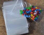 100 Reclosable 6x10 Transparent Plastic Zip Bags  (17-52-154)