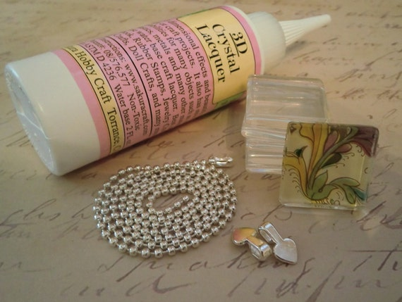 Diy Glass Pendant Necklace Combo Diy Necklace Pendant