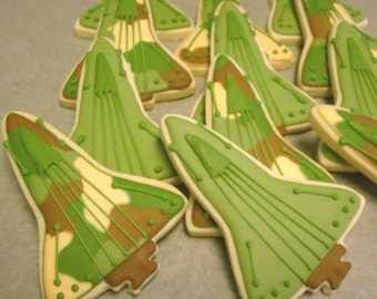 Fighter Jet Cookies - 1 Dozen