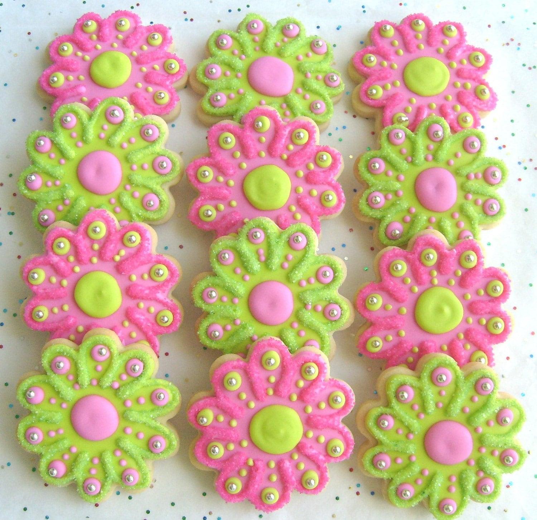 Flower Cookie Decorating Videos
