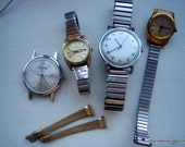 Collection of Old watches for use or reuse