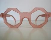 BLACK FRIDAY SALE - 50% off - Rare Unique Alain Mikli Paris Chunky Handmade Eyeglass Frames - Treasury Item