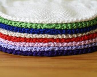Newborn 0-3 Months Lilac handmade crochet baby hat