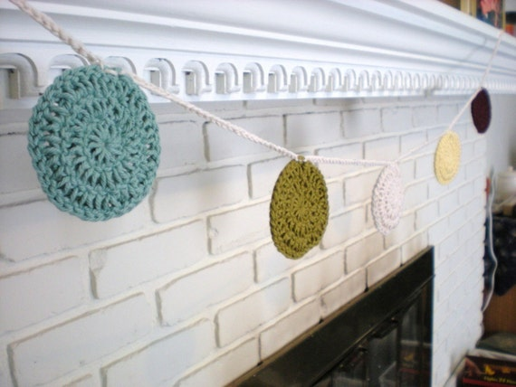 Tutorial Polka Dot Garland PDF Crochet Pattern