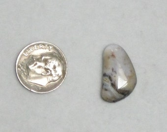 free form lace agate cabochon 1