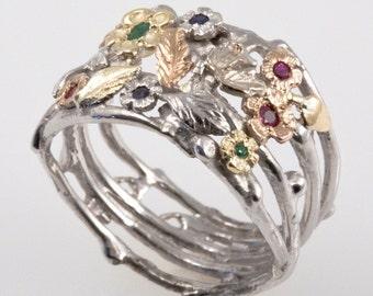 Organic Dream Ring in Technicolor