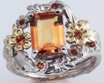 Citrine Empress Ring
